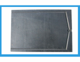 Graphite grill pan