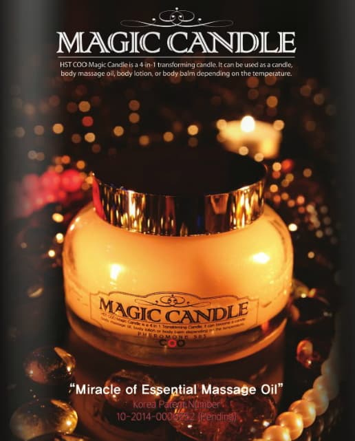 Magic Candle of Essence- Massage Oil - etc