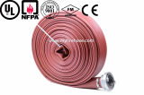 ageing resistance of PVC cotton canvas fire hose with nozzle