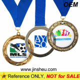 Cheap Custom Sport Award Metal Framed Acrylic Medals