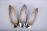 fashion blingbling flat shoes