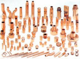 Standard parts for resistance welding
