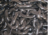 19MM black painted stud link anchor chain
