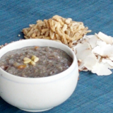 Porridge of unpolished rice- sorghum
