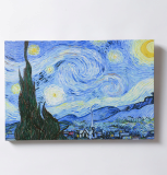 Gogh - The Starry Night Canvas Frame