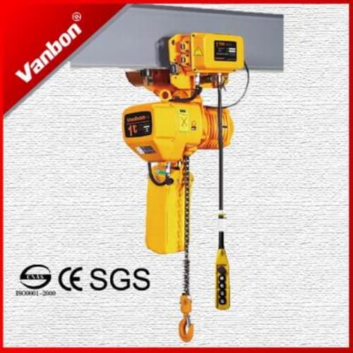 Motorized Trolley Type Electric Chain Hoist From Shanghai