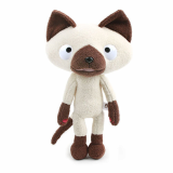 cute cat plush toy