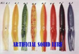 Artificial squid lure & octopus bait