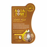 White Organia Aquazone Donkey Milk Mask Pack