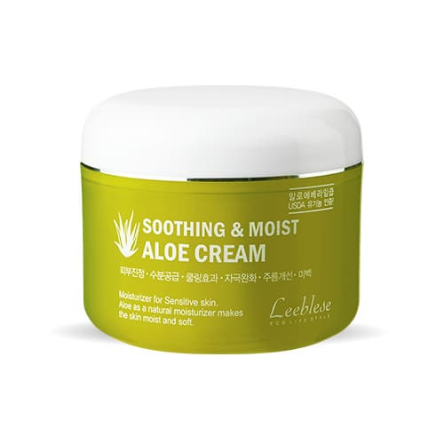 Leeblese Soothing _ Moist Aloe Cream