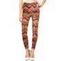 Dress_ Skinny Legging Pants Zig Zag Print for Womens