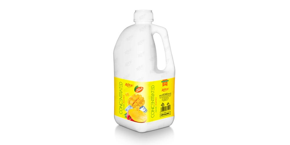 Private Label Products Concentrated Mango Juice from RITA