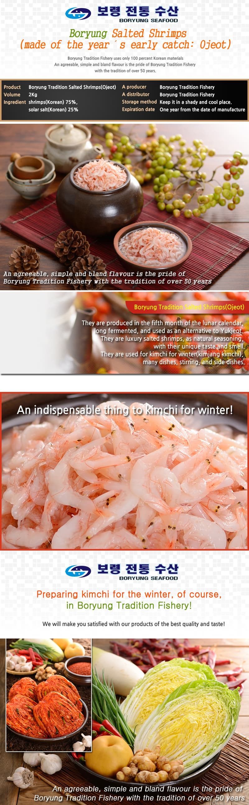 Boryung Tradition Salted Shrimps_Ojeot_