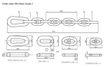 U2 Studless Link Anchor Chain Grade 2
