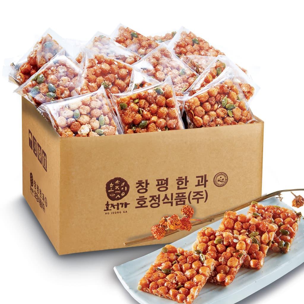 Hojeongga Oranda Kang_jung 1_2kg_Deep_fried Sweet Rice Cake_