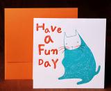 [Assorted Card Set -A4] Letterpress Card
