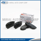 All Kinds of Brake Pad for Korean Vehicles - Miral Auto Camp Corp