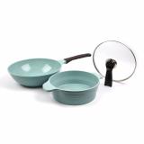 Jade_ceramic coating frying pan_ pan