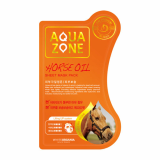 White Organia Aquazone Horse Oil Mask Pack