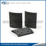 All Kinds of Brake Lining for Korean Vehicles - Miral Auto Camp Corp