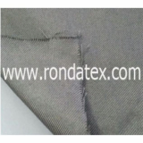 Stainless steel fiber woven metallic fabric
