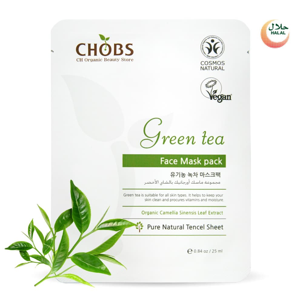 Organic Green Tee Mask Pack