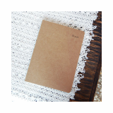 A5 Bookbinding Blank Notebook Eco