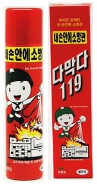 Fire Extinguishing Spray