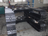 1-60 ton steel crawler track undercarriage
