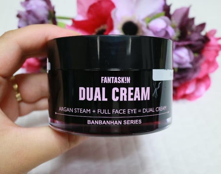 Fantaskin dual cream _Moisturizer _ full face eyecream_