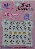 Cartoon 3D Nail Art :: Nail Sticker :: Nail Seal  :: Nail Decor