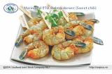 Marinated PTO shrimp skewer (Sweet chili)
