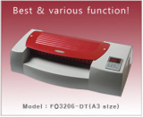 Pouch Laminator/6Roller Sysetm FO3206-DT(A3 Size)