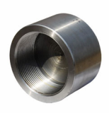 duplex stainless ASTM A182 F47 threaded cap