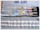 Cotton/Polyester Blend Rib/Stripe S/S Fabric