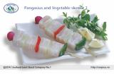Pangasius and Vegetable skewer 2