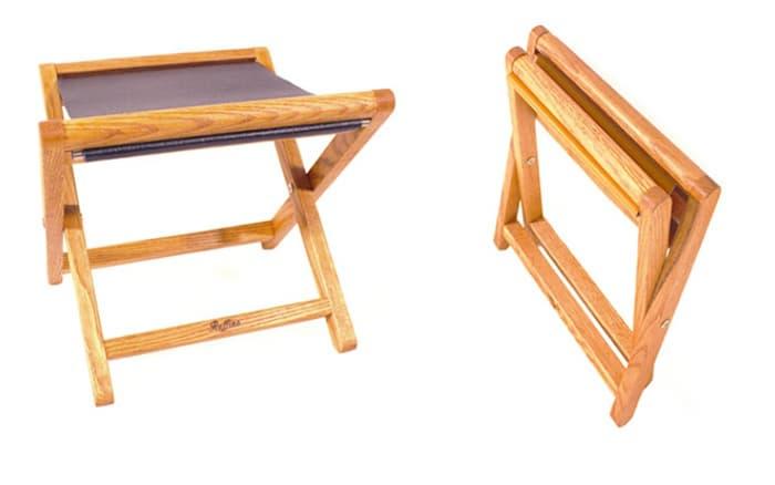 Brilliant Leather Folding Camping Stool Tradekorea Ibusinesslaw Wood Chair Design Ideas Ibusinesslaworg