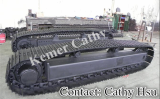 steel track undercarriage steel track system