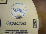Kemet Tantalum Capacitor P/N: T340D226M035AS For Sale