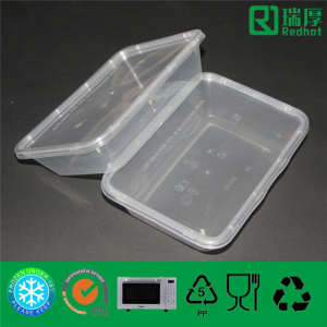 Plastic Disposable Food Storage Food Containe from Wuxi Redhot