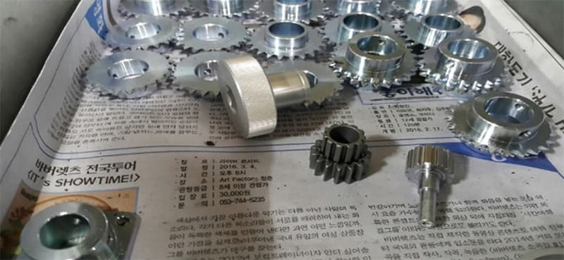 Special gear_pully_special bolt