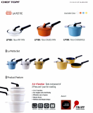 La Petite(Sets of 2 Pots & 1 Pan)