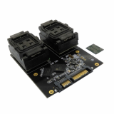 BGA152 BGA132 to DIP48 SATA HDD test socket adapter