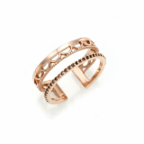 gold ring silver ring Fashion Jewelry
