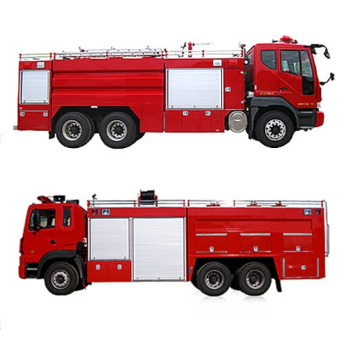 Fire Chemical Pumper