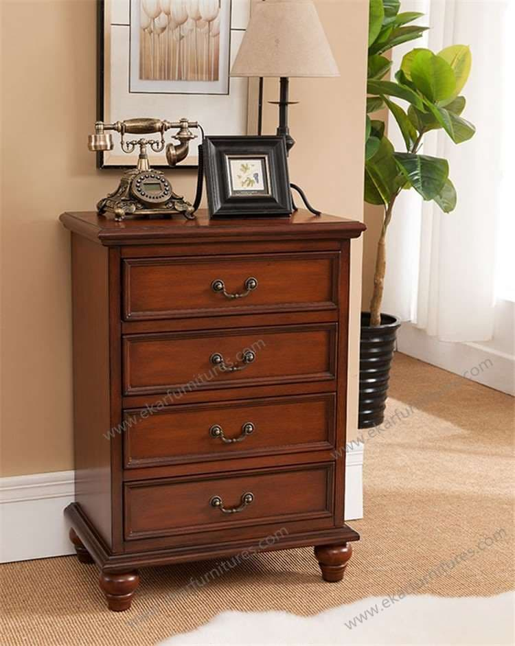 Living Room Chest Of Drawers : Wood Color Living Room Drawer Chest 4 drawers from ...