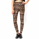Dress_ Skinny Legging Pants Graphic Print for Womens