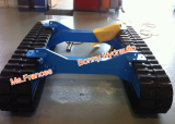 custom design rubber track undercarriage
