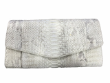 Luxury Python Leather Clutch for Women