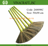 Cheap grass broom for Korea market